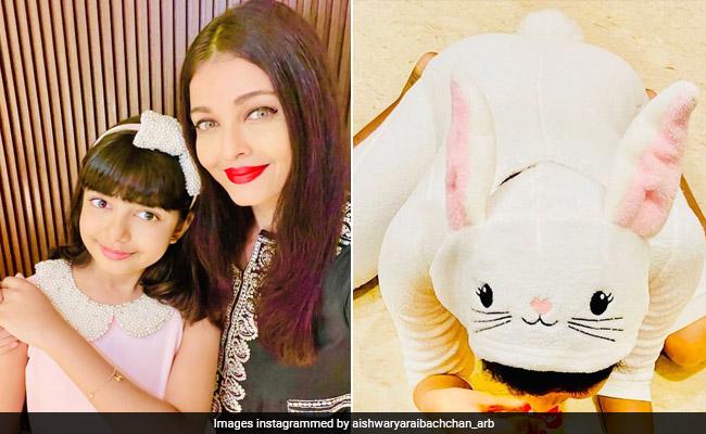 Aishwarya Rai Bachchan And Daughter Aaradhya Send Everyone 'Easter Love'