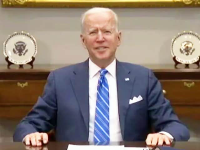 """Video : """"Just As India Sent Assistance To US..."""": Biden Assures Help Amid Covid"""