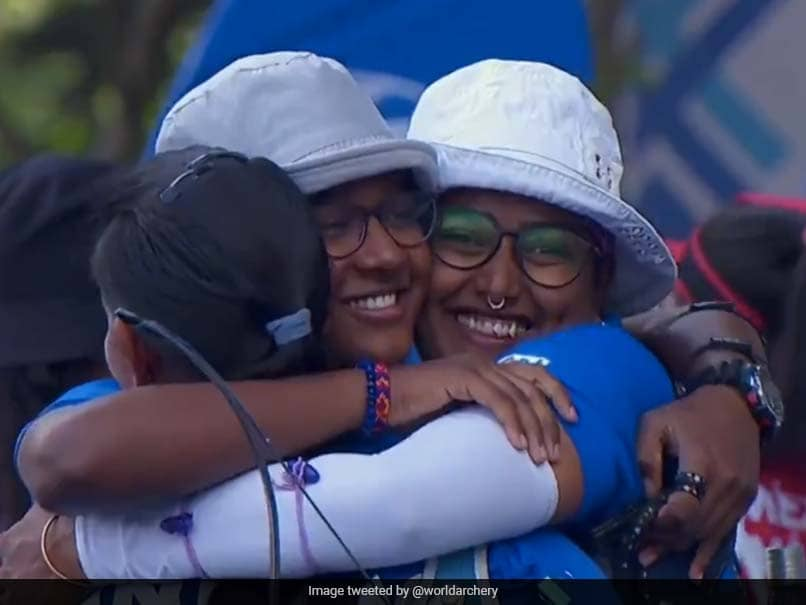 Archery World Cup Stage 1: Deepika Kumaris Perfect 10 Helps India Womens Recurve Team Bag Gold, Bronze For Mixed Pair