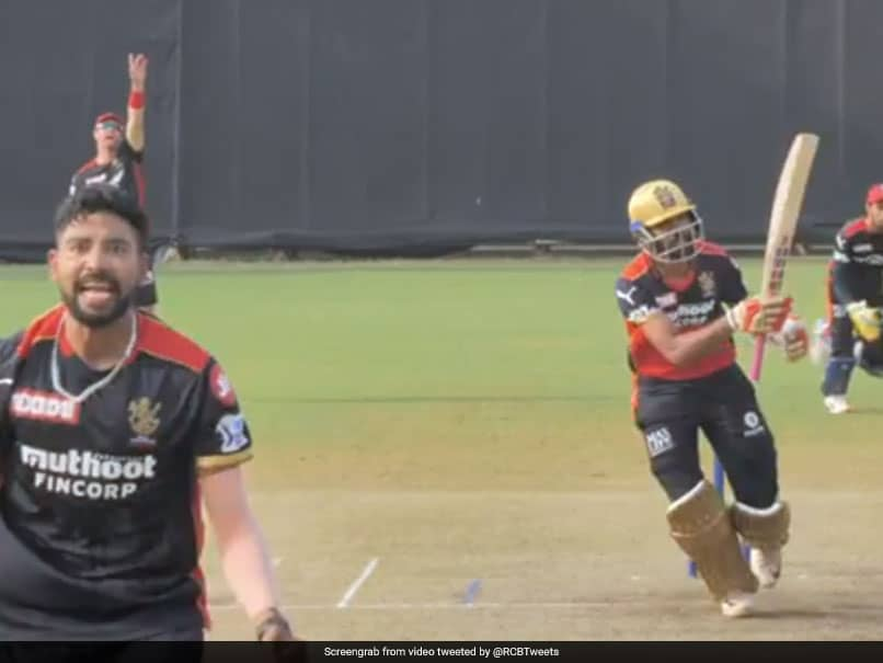 Watch: RCB Play Their First Practice Match Ahead Of IPL 2021