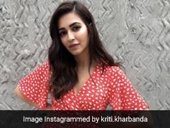Kriti Kharbanda Makes For A Chic Case In A Pretty Co-Ord Set