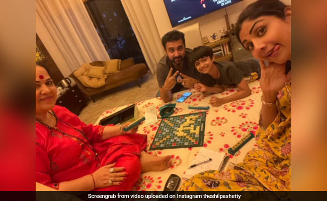 Shilpa Shetty And Her Family Are 'Working Hard' In Lockdown. Here's How