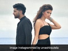 Urvashi Rautela Is A Stunning Black Magic Woman In A Flowing Maxi Dress On The Beach