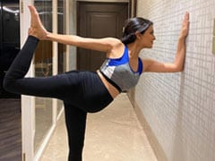 Pregnant Geeta Basra's Yoga Pics Get Shout-Out From Husband Harbhajan Singh