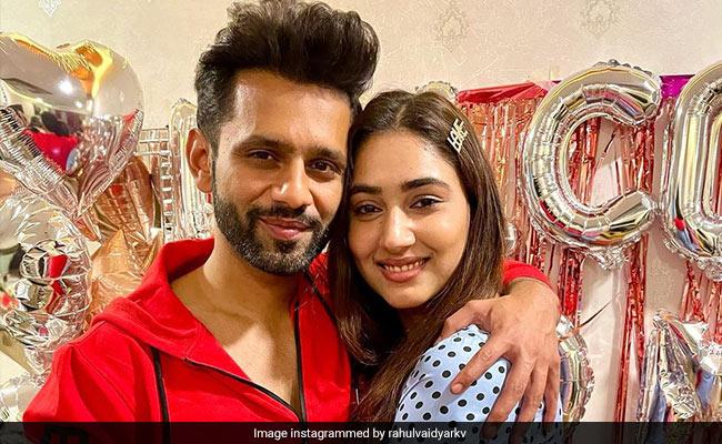 Rahul Vaidya Cannot Stop Gushing Over Girlfriend Disha Parmar Even While Commenting on Disha Patani's Post