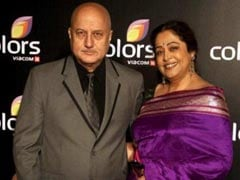 """Anupam Kher Shares An Update On Kirron Kher's Health: """"She's Better But Medicines Have Side Effects"""""""