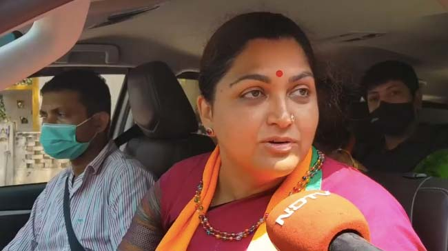 "BJP's Khushbu Sundar's Twitter Account Hacked: ""No Access Since 3 Days"""