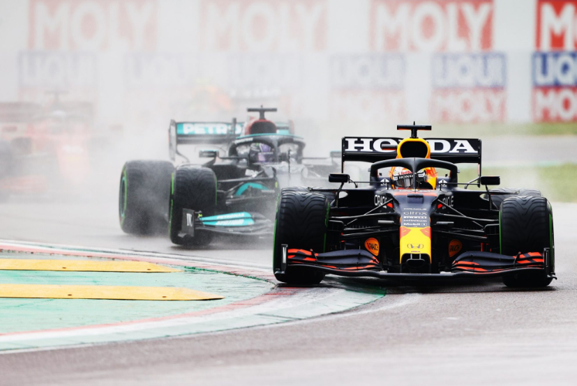 F1: Verstappen Wins In Imola As Hamilton Struggles To P2