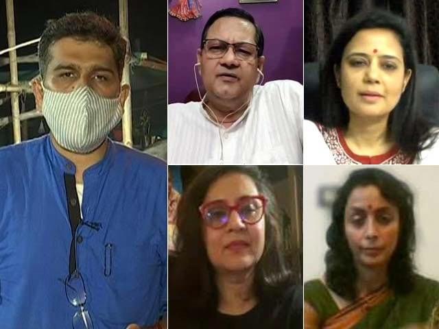 Video : Nandigram Poll Booth Turns Into BJP Vs TMC Battlefield