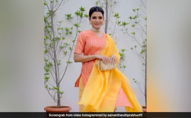 What Miheeka Bajaj Wrote About Samantha Ruth Prabhu's OOTD