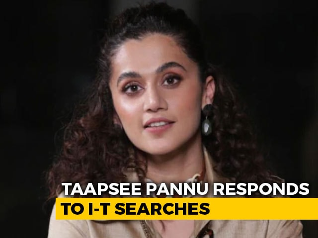 "Video : ""Not So <i>Sasti</i> Anymore"": Actor Taapsee Pannu On 3 Days Of Tax Raids"