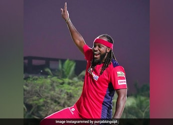 IPL 2021: Cricketer Chris Gayle Enjoys Breakfast Meal Early In The Morning