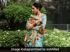 Sobhita Dhulipala's Colourful Floral Saree Is What Summer Dreams Are Made Up Of