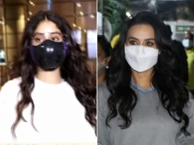 Video : How Janhvi Kapoor, Preity Zinta, And Hina Khan Spent Their Tuesday