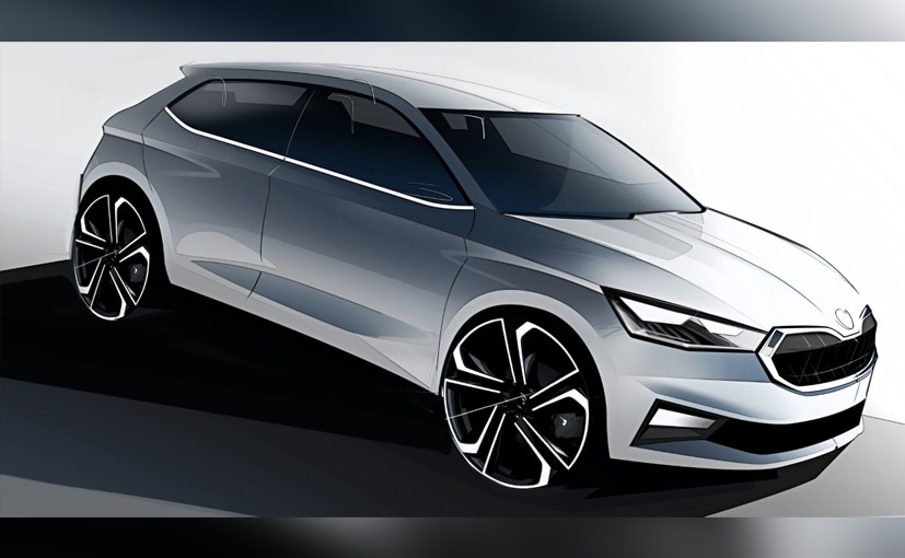 Skoda Releases Design Sketches Of The New-Gen Fabia