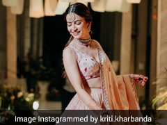 Ring In The Wedding Season In Style Just Like Kriti Kharbanda In This Stunning Lehenga