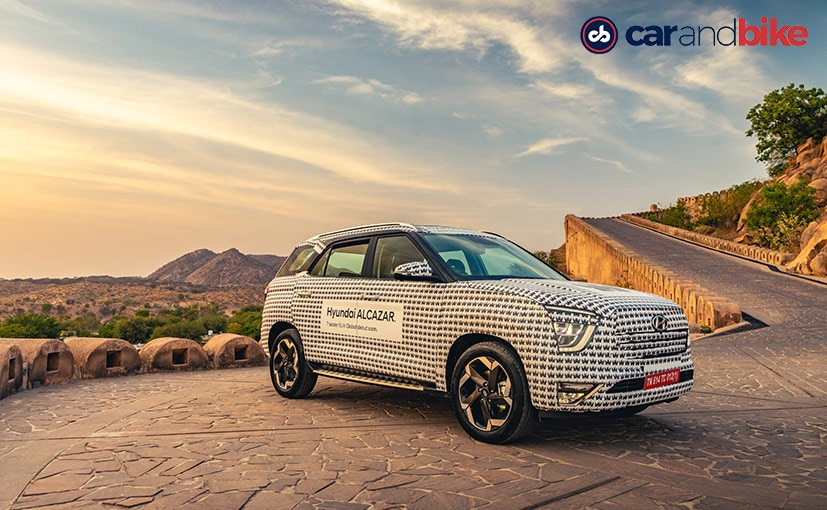 The new Hyundai Alcazar is expected to be launched in India in a matter of few weeks