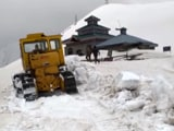 Video : Snow Clearance On In J&K's Pir Panjal Range