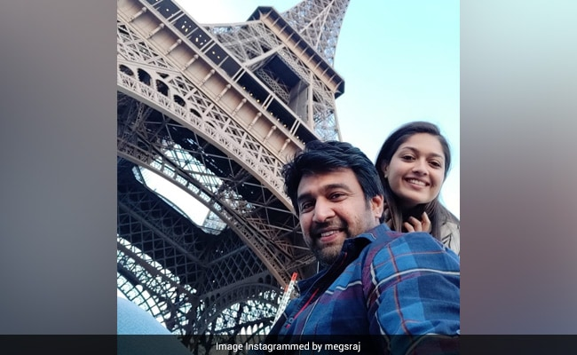 'Come Back,' Late Actor Chiranjeevi Sarja's Wife Meghana Raj Writes In An Emotional Post