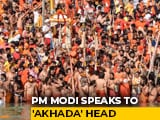 "Video : ""Kumbh Mela Should Now Only Be Symbolic To Strengthen Covid Fight"": PM"