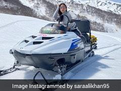Both Sara Ali Khan And Ibrahim Ali Khan Choose The Frozen Snow For Their Summer Holidays
