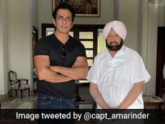 Punjab Appoints Sonu Sood As Brand Ambassador Of Covid Vaccination Drive