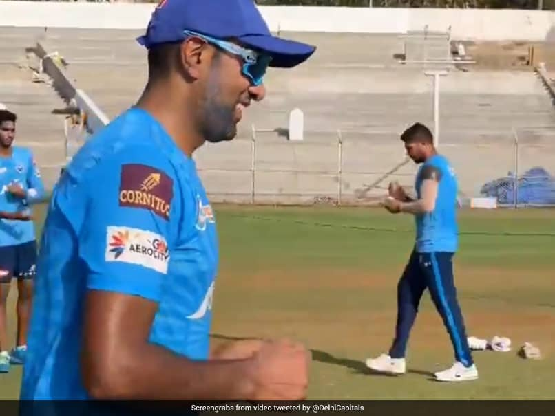 "IPL 2021: Ravichandran Ashwin ""Back In The DC Blue"", Hits The Nets At Delhi Capitals. Watch"