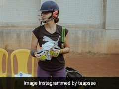 What Day One For Taapsee Pannu On <i>Shabaash Mithu</i> Set Looks Like