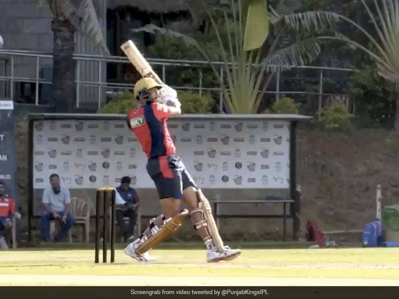 IPL 2021: Punjab Kings Show Off Shahrukh Khans Six-Hitting Prowess. Watch