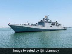 2 Navy Ships Bringing Liquid Oxygen-Filled Tanks From Bahrain To Mumbai