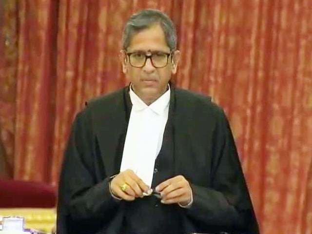 Video : Justice NV Ramana Sworn In As New Chief Justice Of India