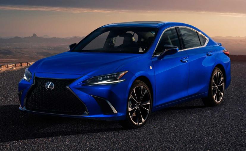Design changes on the new Lexus ES 300h are subtle.