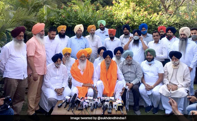 Sukhdev Singh Dhindsa, Ranjit Singh Brahmpura To Launch New Party