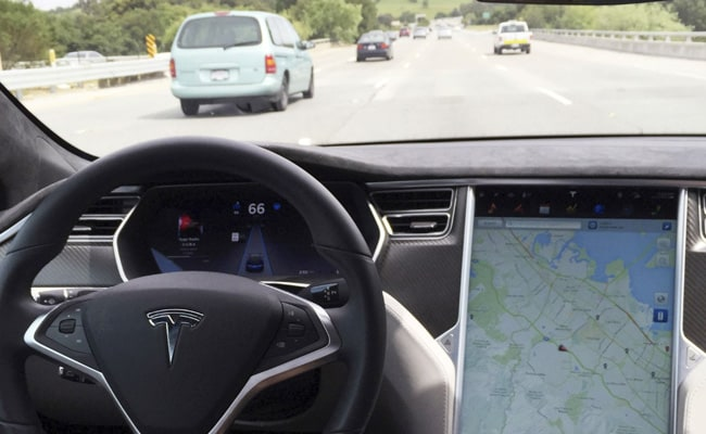 Tesla's Autopilot is a driver assistance system that offers hands-free driving