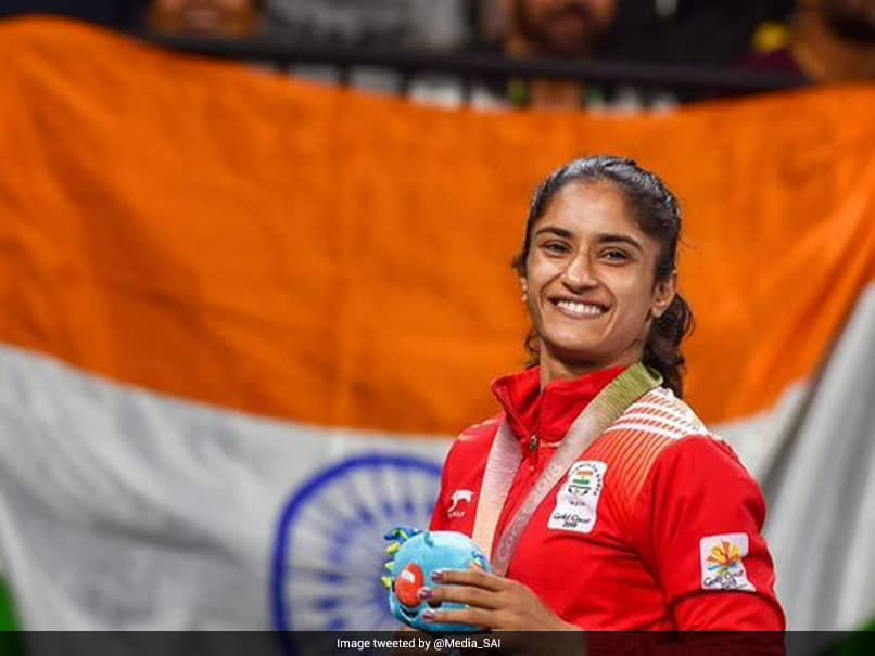 Vinesh Phogat Wins Maiden Gold At Asian Wrestling Championships
