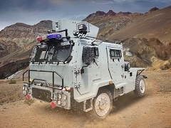 Ashok Leyland Supplies First Lot Of Light Bullet Proof Vehicles To Indian Air Force