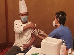 """Workplace Vaccination Begins In Delhi On First Day Of PM's <i>""""Tika Utsav""""</i>"""