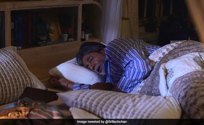 For Amitabh Bachchan, The Only Thing 'Greater' Than Sleep Is...