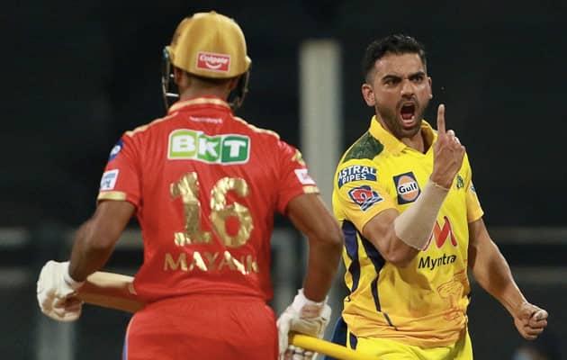IPL 2021: Deepak Chahar Stuns Punjab Kings As CSK Ease To 6-Wicket Win