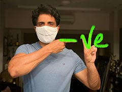 Sonu Sood Tests Negative For COVID-19. Here's What He Shared