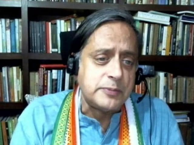 Video : Shashi Tharoor: Confident Wind Is Blowing In Our Direction
