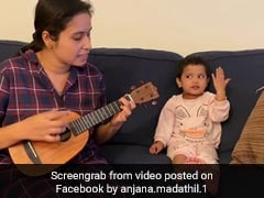 Watch: Toddler Joins Mom In Singing '<i>Agar Tum Saath Ho</i>'. Smiles Guaranteed
