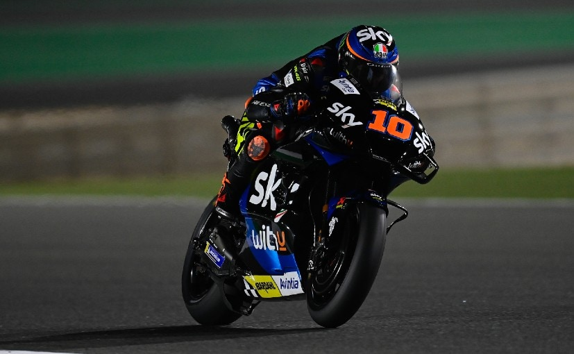 Motogp Exclusive To Be In The Same Moment On Track With Valentino Will Be Special Luca Marini