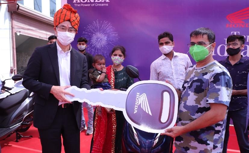 Atsushi Ogata, Managing Director, President & CEO of HMSI during his maiden visit to Rajasthan