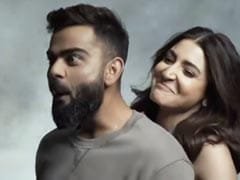 """<I>Oh Teri</i>"": Anushka Sharma Swept Virat Kohli Off His Feet - Literally - In This Video"