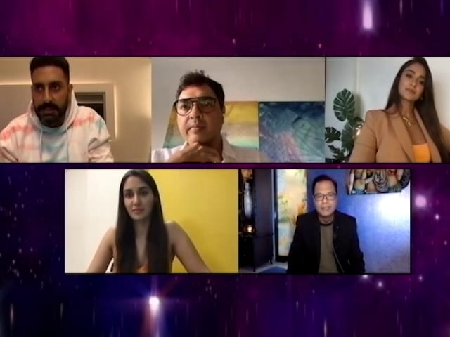 Video : 'बिग बुल' : अभिषेक बच्चन समेत फिल्म की स्टारकास्ट ने शेयर किए अनुभव