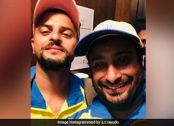 Suresh Raina, Ambati Rayudu Turn Chefs. Guess What They Cooked?