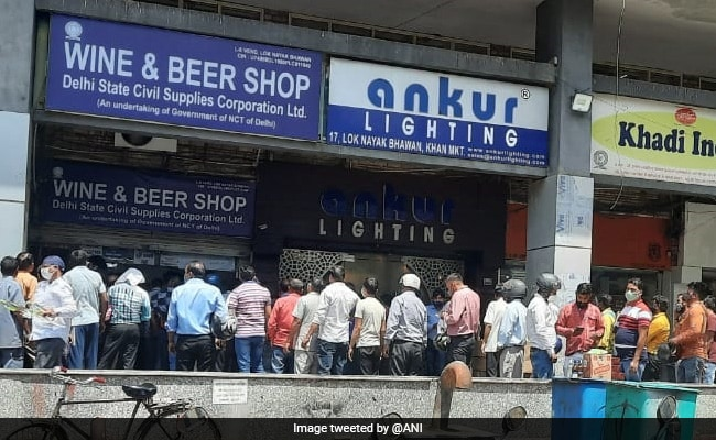 Delhi Asks State-Run Liquor Vends To Stock Up Sufficiently