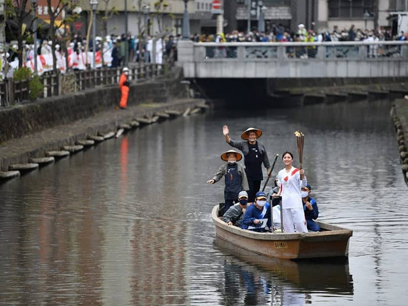 Olympic Torch Relay Barred From Public Roads Across Japans Osaka Region