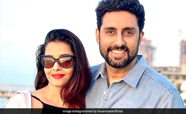 To 'Crazy In Love' Aishwarya And Abhishek Bachchan On Their Anniversary, 'Hugs And Love' From Tina Ambani